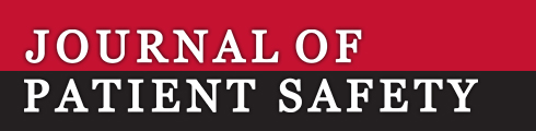 Journal of Patient Safety logo